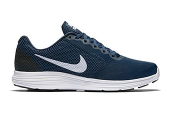Nike Men's Revolution 3 Running Shoe (Navy/White/Obsidian, Size 9)