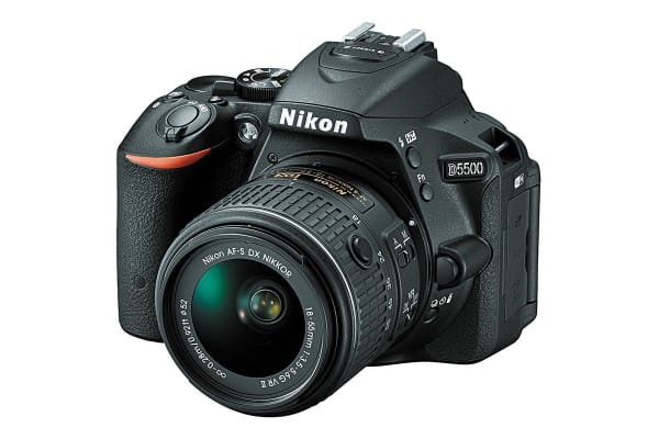 Nikon D5500 DSLR Camera with 18-55mm VR II Lens Kit (Black)