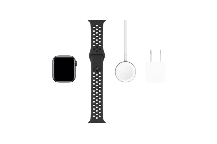 Apple Watch Nike+ Series 5 (Space Gray Aluminum, 40mm, Anthracite/Black Nike Sport Band, Cellular)