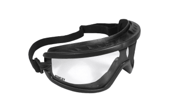 Stanley Basic Safety Goggle (Black/Clear) (One Size)