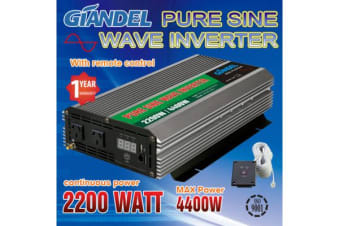2200W Pure Sine Wave Inverter with Remote Control