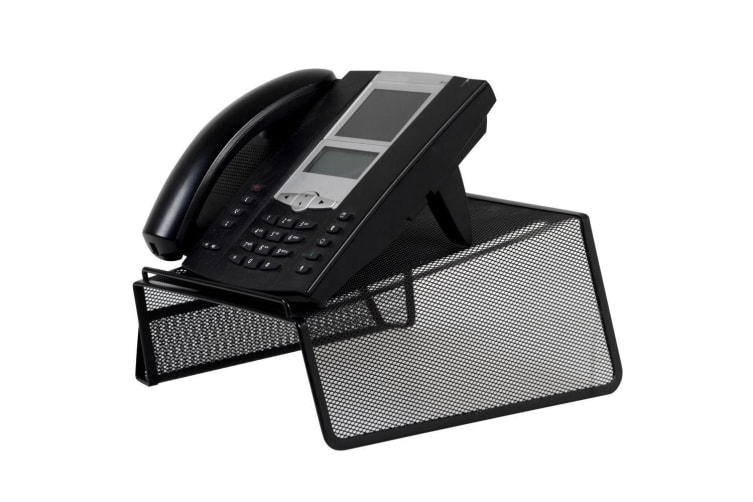 3x Black Phone Stand Holder for Telephone/Desk/Office/Home/Landline/Uniden/Avaya