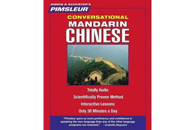 Pimsleur Chinese (Mandarin) Conversational Course - Level 1 Lessons 1-16 CD - Learn to Speak and Understand Mandarin Chinese with Pimsleur Language Programs