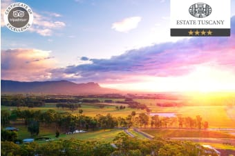 HUNTER VALLEY: 2 Nights at Estate Tuscany, Pokolbin NSW For Two