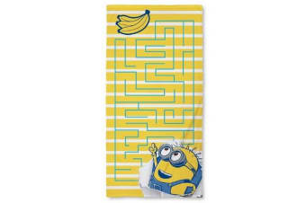 Despicable Me Awesome Towel (Blue/Yellow/White)