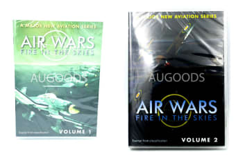 Air wars Fire In the skies volume 1 & 2 RARE FILM REGION ALL DVD NEW