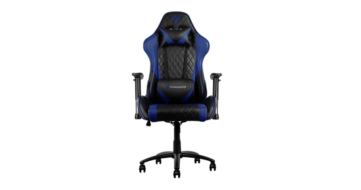 Dick Smith Thunderx3 Tgc15 Gaming Chair Black Blue Office Chairs