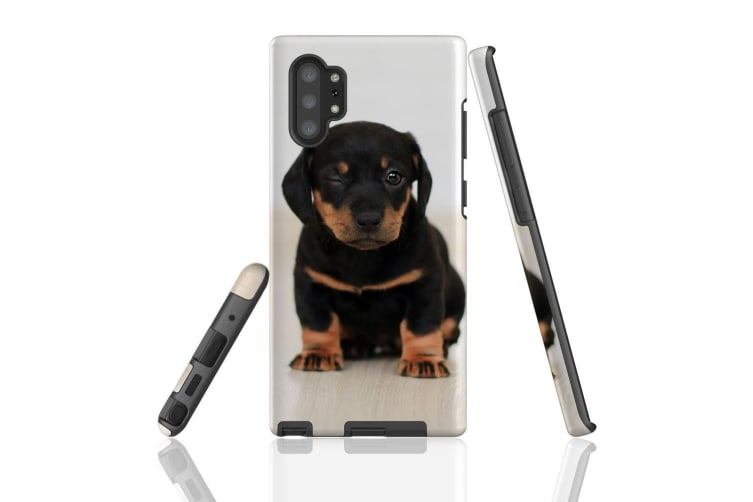 For Samsung Galaxy Note 10+ Plus Case  Armour Tough Cover  Puppy