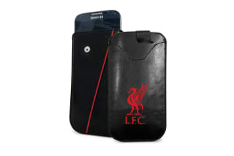 Liverpool FC Small Phone Pouch (Black) (One Size)