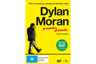 Dylan Moran Yeah Yeah Live in London DVD Region 4