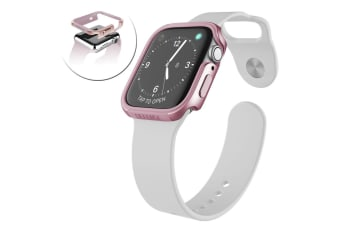 X-Doria Defense Edge Protective Case Cover for 44mm Apple Watch iWatch Rose Gold