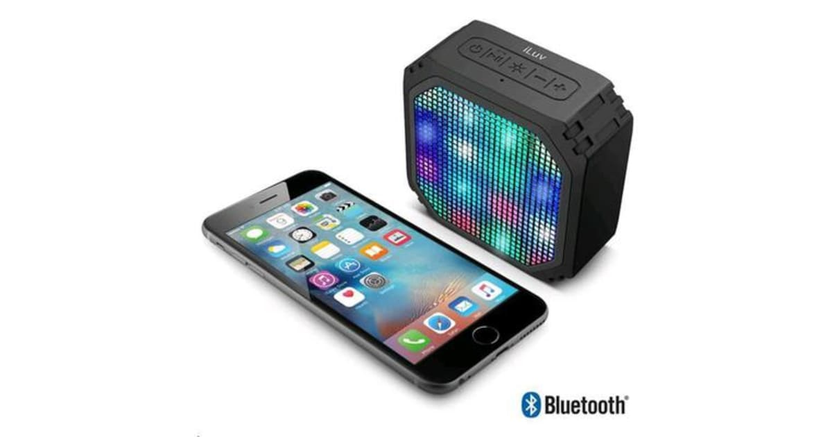 how to connect iluv bluetooth speakers to laptop