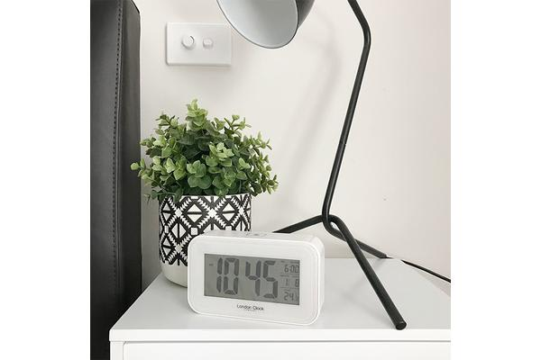 London Clock Company Rectangle Digital Alarm Clock