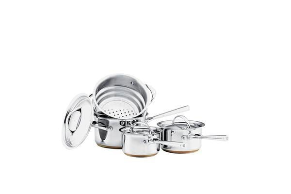 Essteele Per Vita 4pc Set w/ Saucepans & Steamer