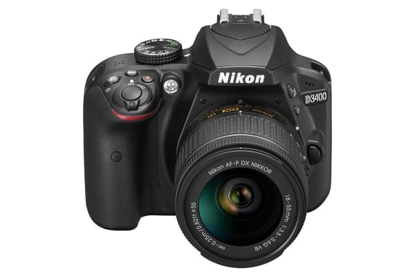 Nikon D3400 DSLR Camera 18-55mm Lens Kit