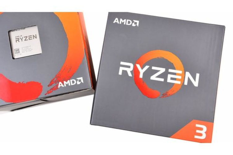 AMD Ryzen 3 2200G, 4 Core AM4 CPU, 3 7GHz 6MB 65W w/Wraith Stealth Cooler  Fan RX Vega Graphics Box