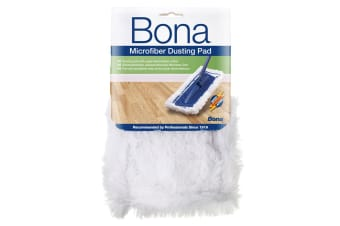 Bona Microfibre Dusting Pad for Floor Mop Cleaning/Dust Washable/Reusable