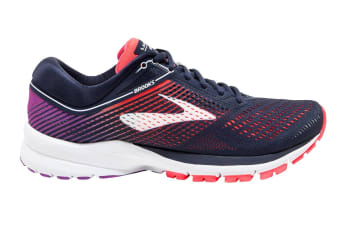 Brooks Women's Launch 5 (Navy/Coral/Purple, Size 10)