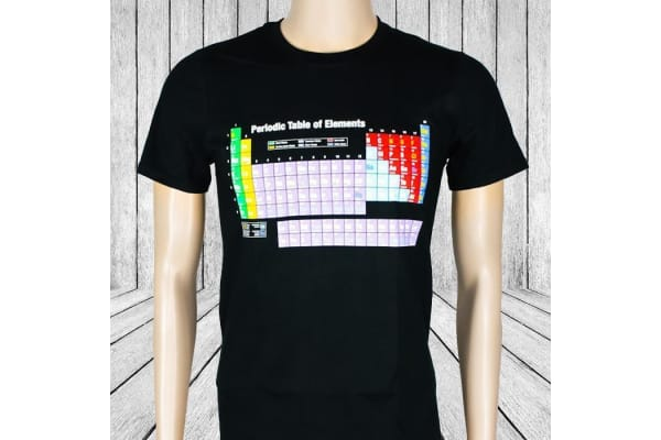Periodic Table of Elements T-Shirt - Small