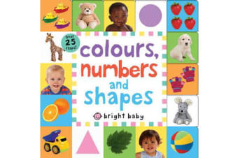 Colours, Numbers and Shapes - Lift the Flap Tab