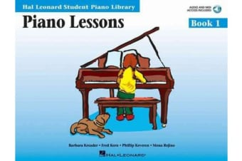 Piano Lessons Book 1 - Hal Leonard Student Piano Library
