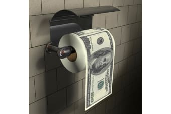 $100 Bill Novelty Toilet Paper | Wipe Your Ass With Hundy Dollar Bills