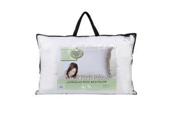 Wooltara Australian Wool Rich Pillow - Medium Profile