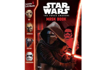 Star Wars Build-A-3D-Mask Book - Star Wars Build-A-3D-Mask Book