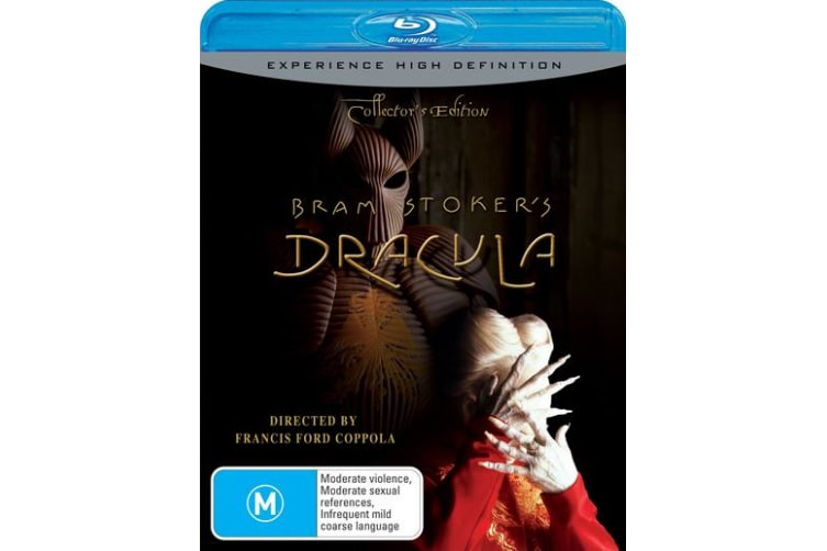Bram Stokers Dracula Collectors Edition Blu-ray Region B