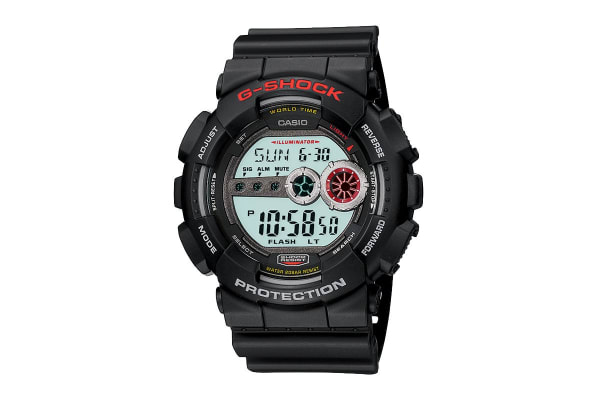 Casio G-Shock Digital Watch with Resin Band - Black (GD100-1A)