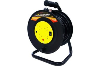 Ultracharge 25M Handyman Ext Reel With
