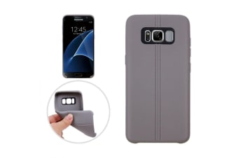 For Samsung Galaxy S8 PLUS Case Stylish Dotted Grippy Protective Cover Grey