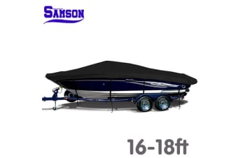 Samson 600d Solution Dyed Marine Grade Trailerable Boat Cover 16-18ft