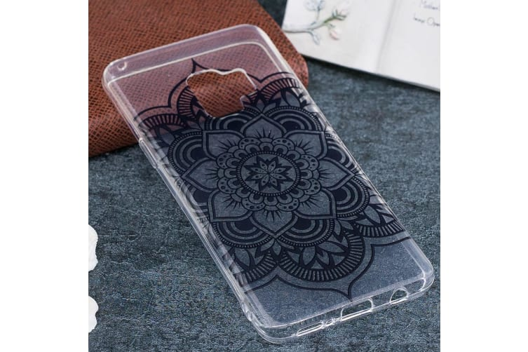 For Samsung Galaxy S9 Back Case Black Datura Durable HighQuality Shielding Cover