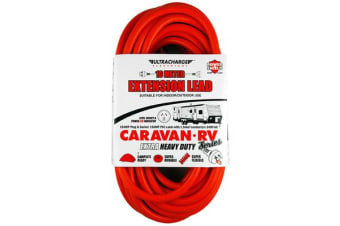 Ultracharge 10M 15A Caravan Extension Lead
