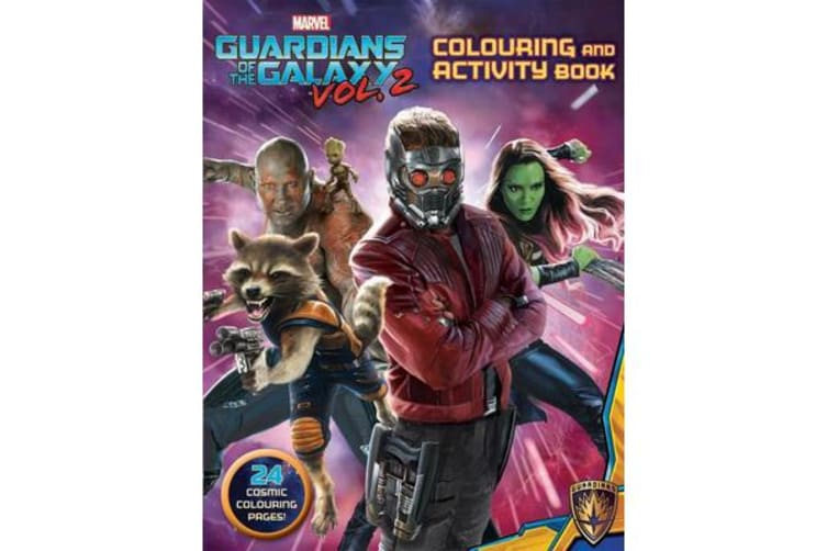 Marvel Guardians of the Galaxy Vol. 2 - Colouring and Activity Book