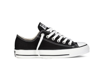 Converse Chuck Taylor All Star Ox Lo (Black, US Mens 7.5 / US Womens 9.5)
