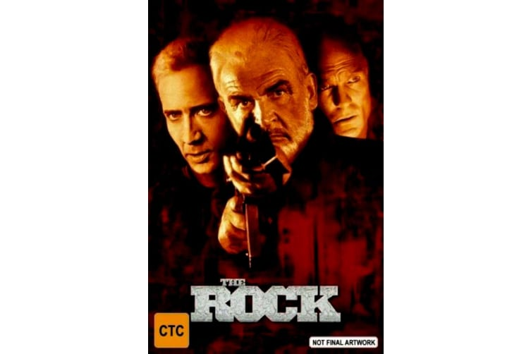 The Rock - Rare- Aus Stock DVD PREOWNED: DISC LIKE NEW