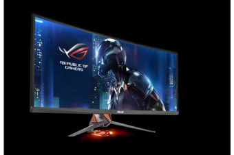 ASUS PG348Q 34' Ultra-wide Gaming Monitor QHD 3440x1440, overclockable 100Hz , G-SYNC™