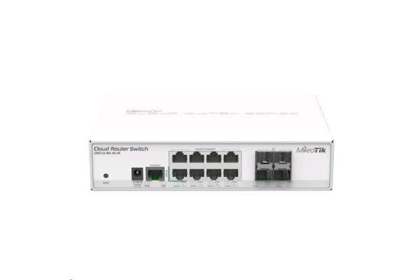 MikroTik CRS112-8G-4S-IN 8 x Gigabit Ethernet layer 3 Smart Switch