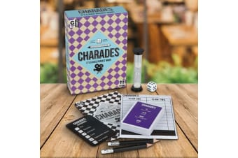 Charades The Race Against Mime! Game | family cards kids party