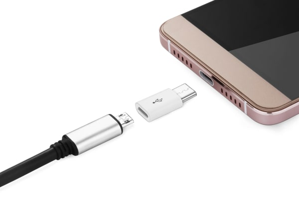 micro USB to USB-C Adapter