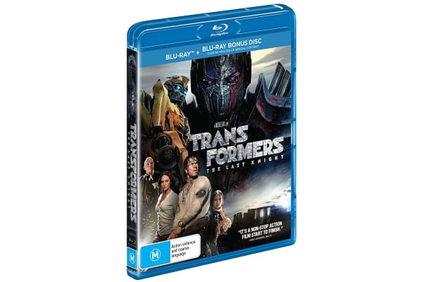 Transformers - The Last Knight Blu-Ray