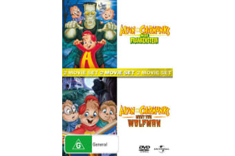 Alvin and the Chipmunks meet Frankenstein / Meet the Wolfman DVD Region 4