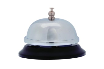 Counter Bell Chrome for Restaurant/Retail/Medical Business/Workplace/Reception