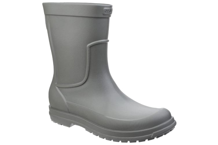 Crocs Mens Allcast Rain Boots (Olive) (8 UK)
