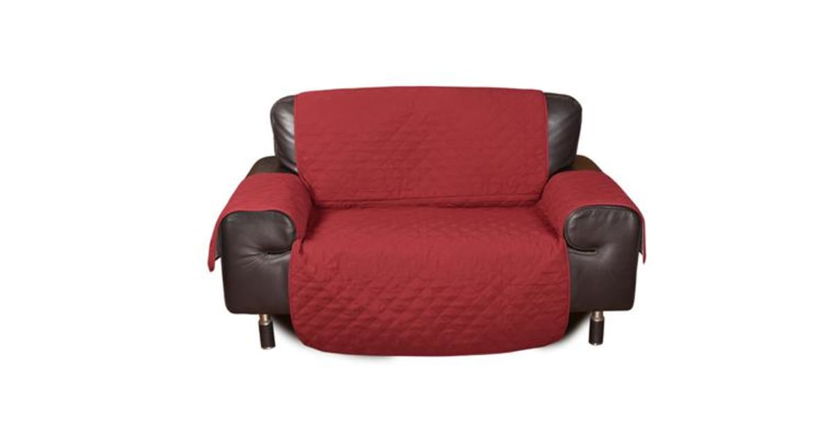 2 Seater Quilted Sofa Protector Throw Furniture Protector