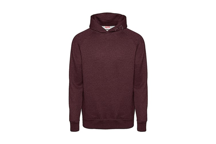FDM Tagless Media Hoodie (Heather Burgundy) (XL)