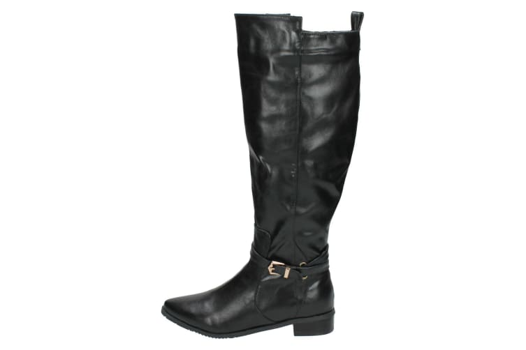 Spot On Womens/Ladies Knee High Winter Boots (Brown) (UK Size 7)