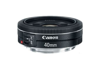 New Canon EF 40mm f/2.8 STM Lens (FREE DELIVERY + 1 YEAR AU WARRANTY)